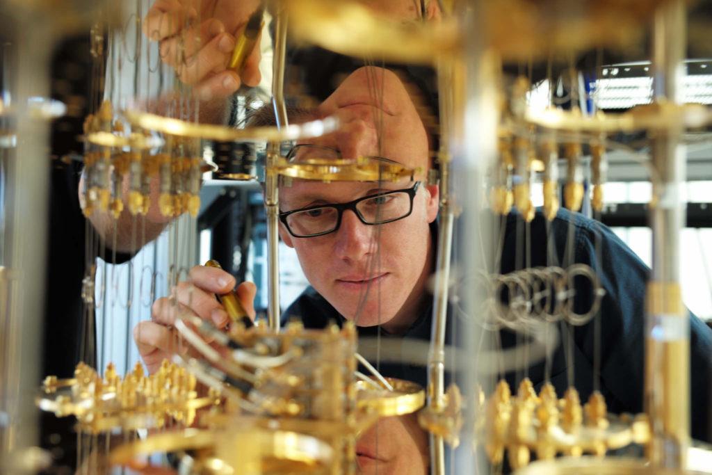 Stefan Filipp, scientist at IBM Research Center in Zurich
