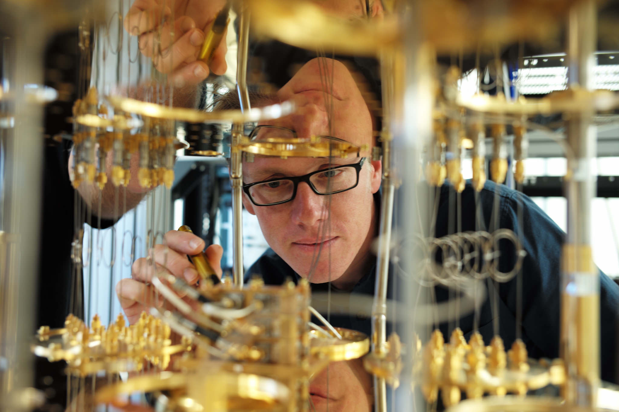 Just a decade and we'll have quantum computing